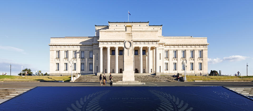 Visit Auckland Domain and the War Memorial Museum
