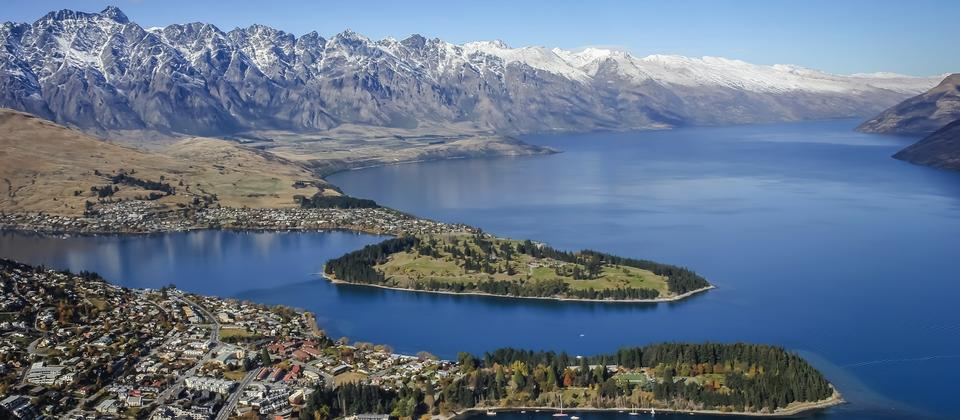 Queenstown Aerial View