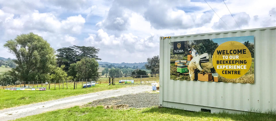 Welcome to the NZMA Beekeeping Experience Centre