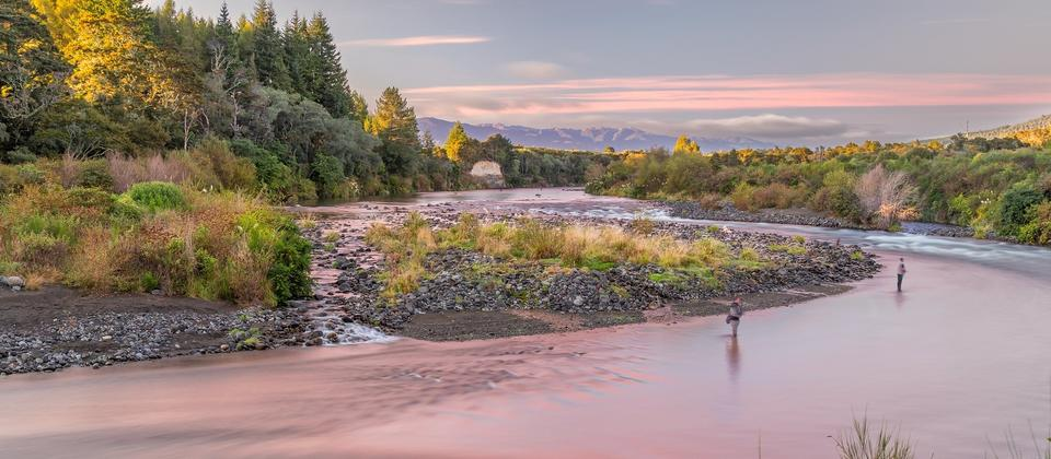 Tongariro River Sunrise