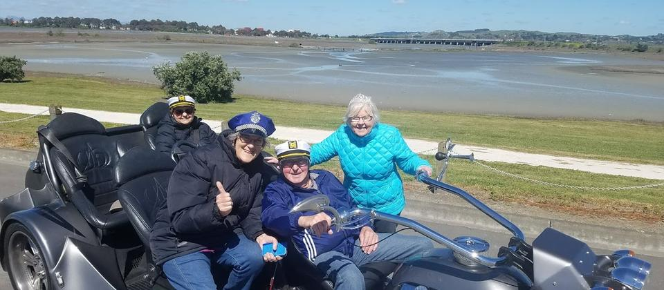 So much fun to be had on your day on the Supertrike!