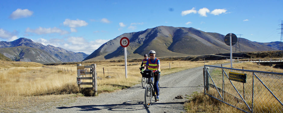 Cycling through Molesworth Station
