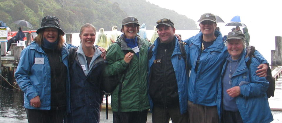 Yes we even guide in the rain! Ulva's Guided Walks' team