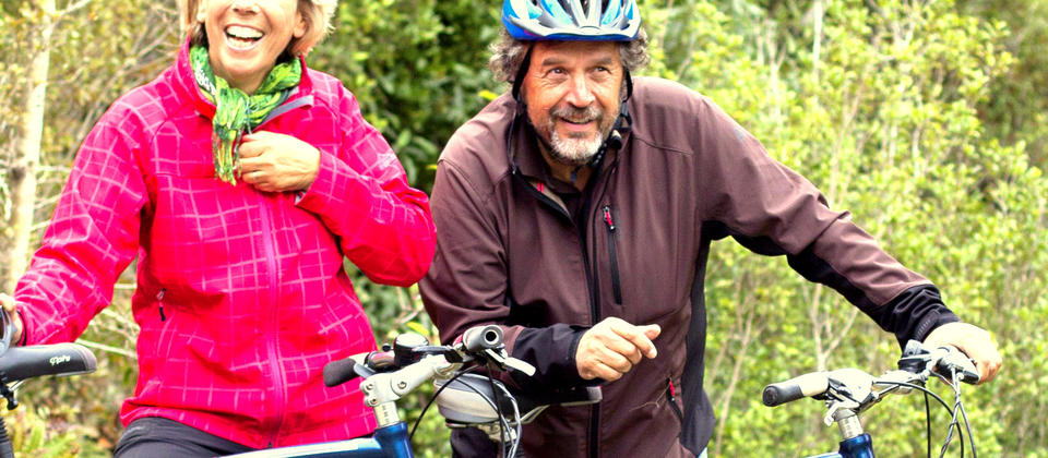 Quality time with West Coast Rail Trails Cycle Tours