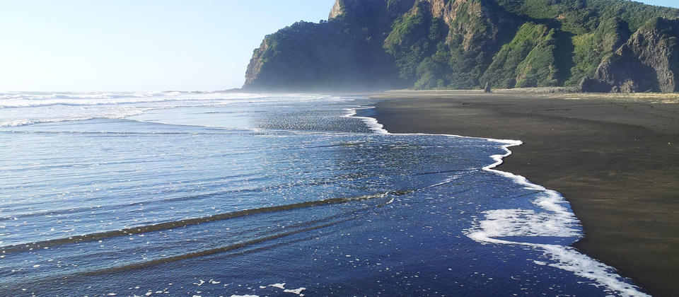 Karekare Beach, Auckland's West Coast.