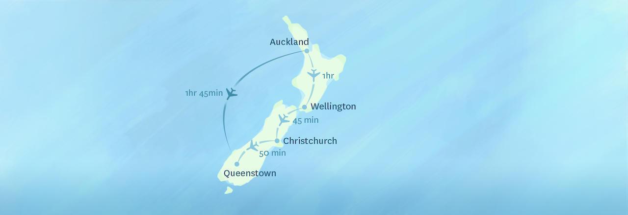 Queenstown New Zealand Map on