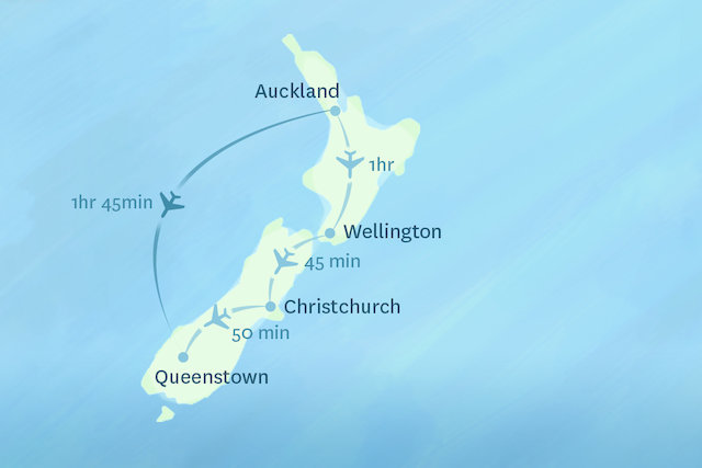 Map Of New Zealand Auckland.Domestic Flights In New Zealand Things To See And Do In New Zealand