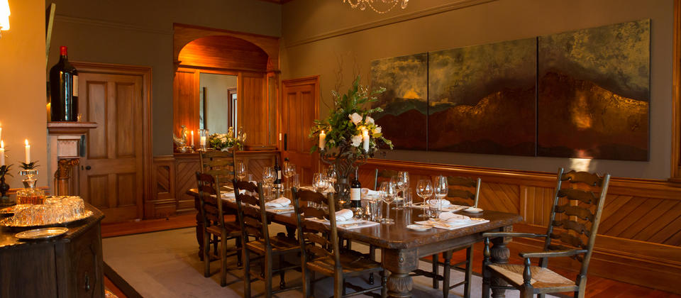 Dine admidst historic charm