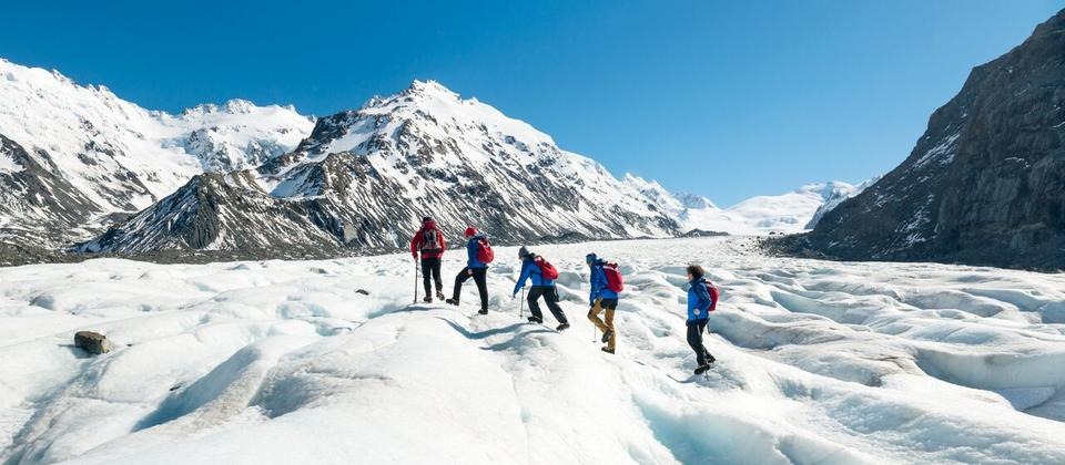 The Adventurer: Tasman Glacier Heli Hike