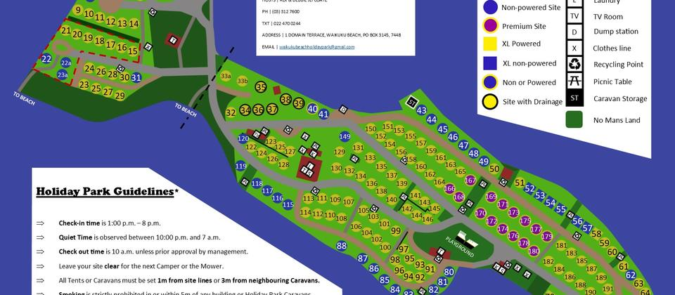 Holiday Park Map