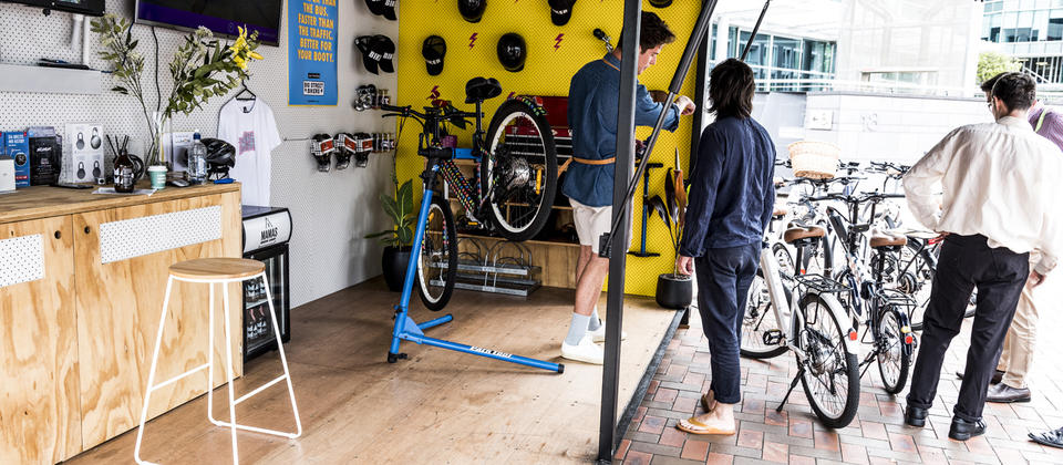 All bikes are less than 12 months old and regularly serviced