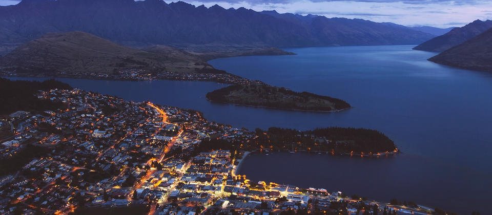 Nightlights of Queenstown