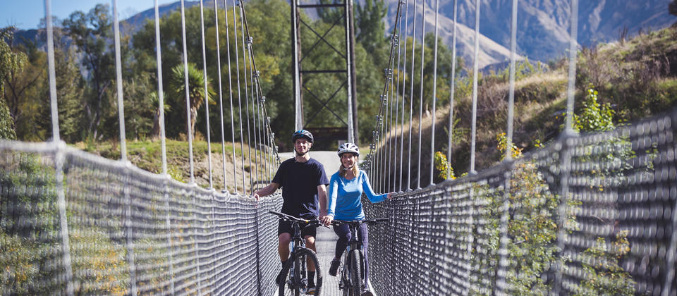 Suspension Bridge near Arrowtown.