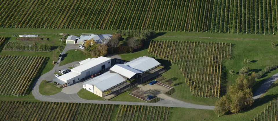 FROMM WINERY from the air