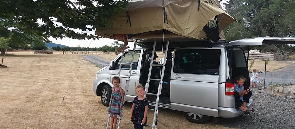 VW T5 Glamping in NZ