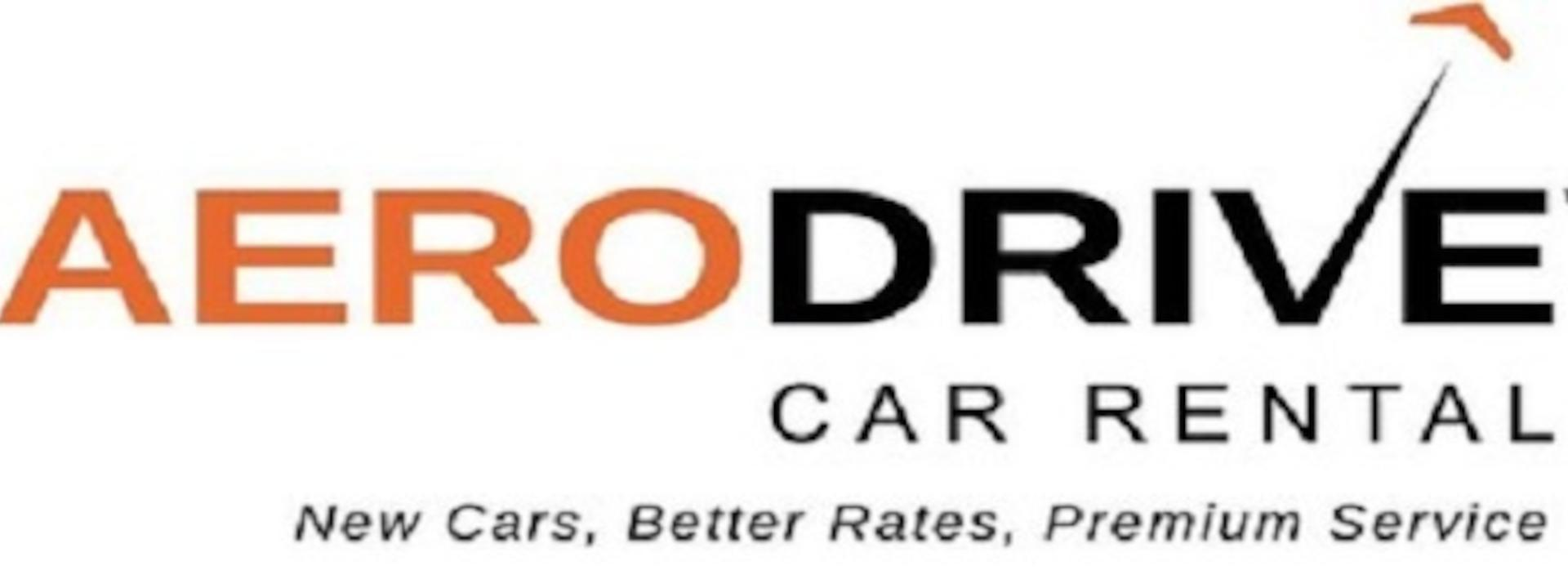 Logo: Aerodrive Car Rental New Zealand