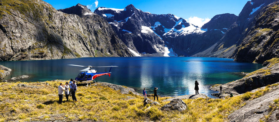 Visit remote high alpine lakes
