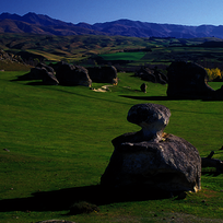 Elephant Rocks en Waitaki