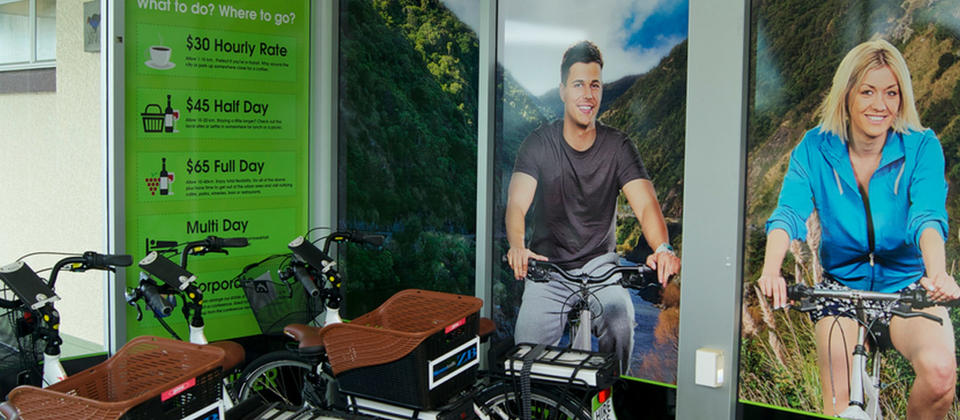 Ezy Rider Electric Bicycles Hire