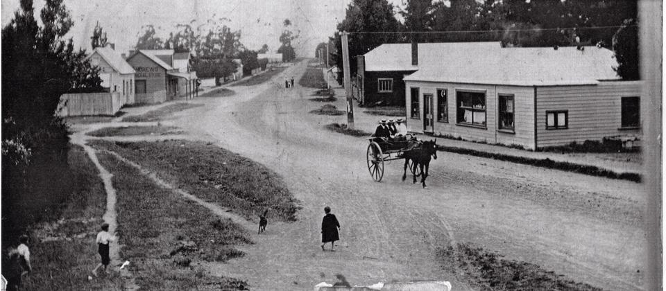Sunday morning and off to the cemetery after church circa 1890