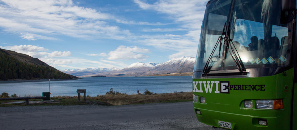 Lake Tekapo in the South Island has some of the bluest water you will ever see
