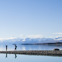 Lake Pukaki in the South Island