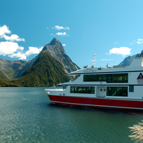 Steep and rugged, Milford Sound is best experienced by stepping off the land.