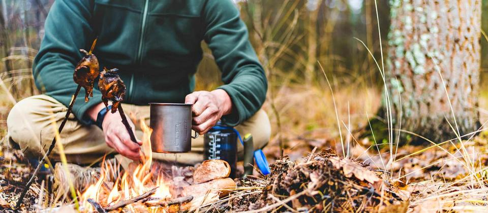 Learn basic survival skills on Chris Jolly Outdoors Interactive Survival Walk