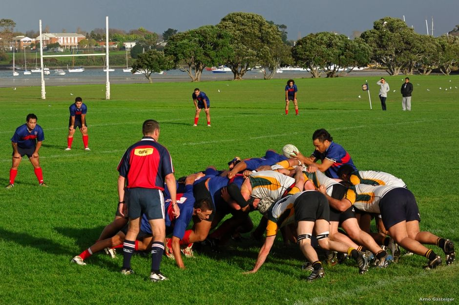 Rugby is New Zealand's national sport