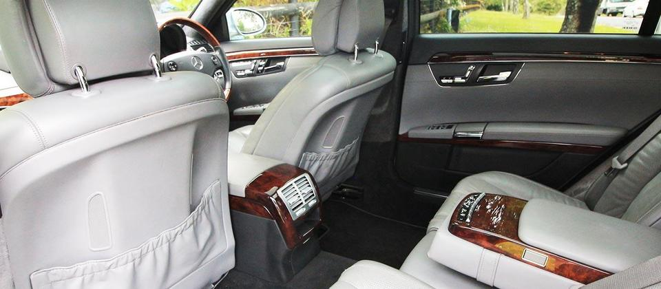 Our S600 features rear reclining, massaging, heated and cooled seats.