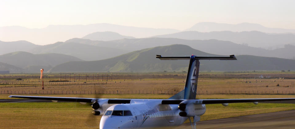 Napier Airport, Hawkes Bay, New Zealand, 31 August 2005