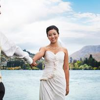Pure, timeless and real, New Zealand landscapes reflect the emotions of a perfect wedding.