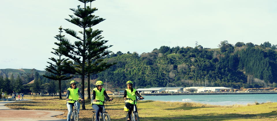 Oneroa Beach Cycle Way