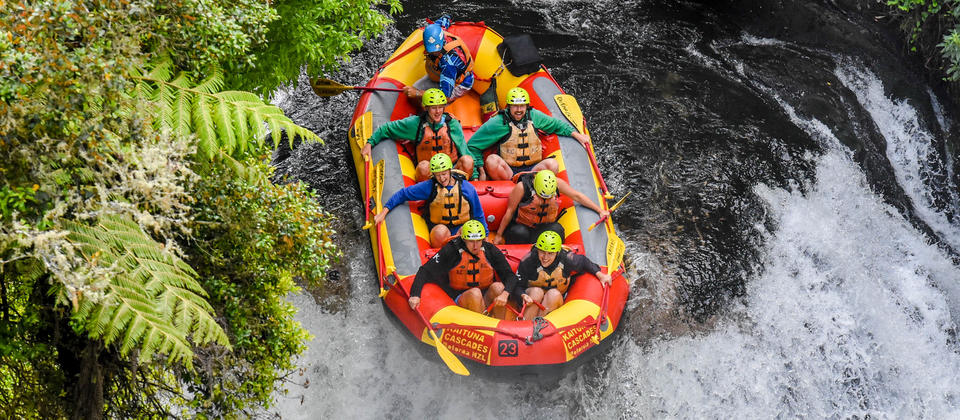 Fun rafting on the Kaituna!