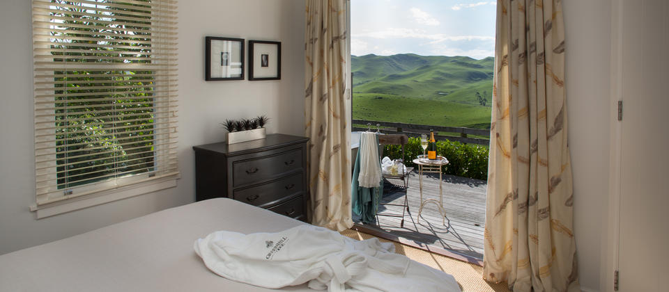 Enjoy garden and countryside views from your suite