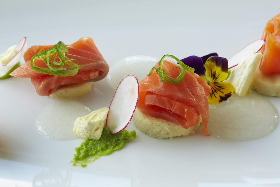 Mt Cook Alpine Salmon is served as sashimi, grilled and smoked in many fine dining restaurants around New Zealand.
