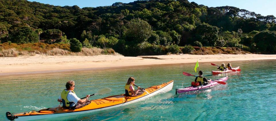 Kayak tour at Paihia, Bay of Islands