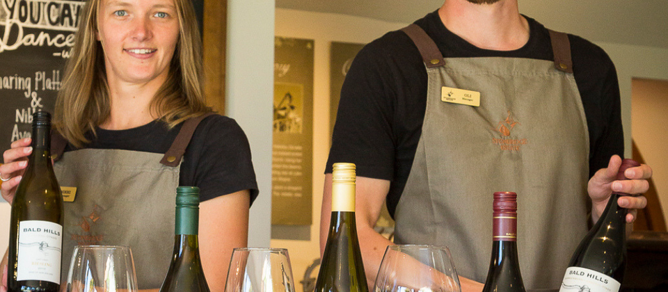 Our friendly & knowledgable Cellar Door team