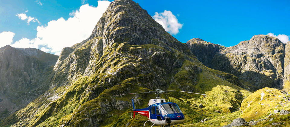 Experience the high peaks of the Southern Alps up close and personal