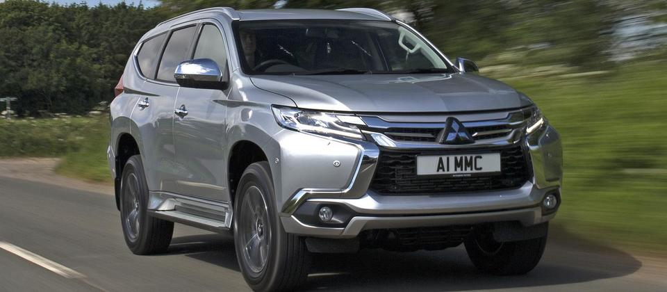 Mitsubishi Pajero Sport from $79 per day.