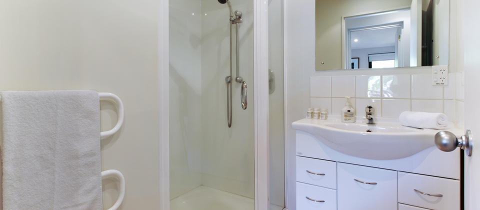 Second Bathroom with a shower