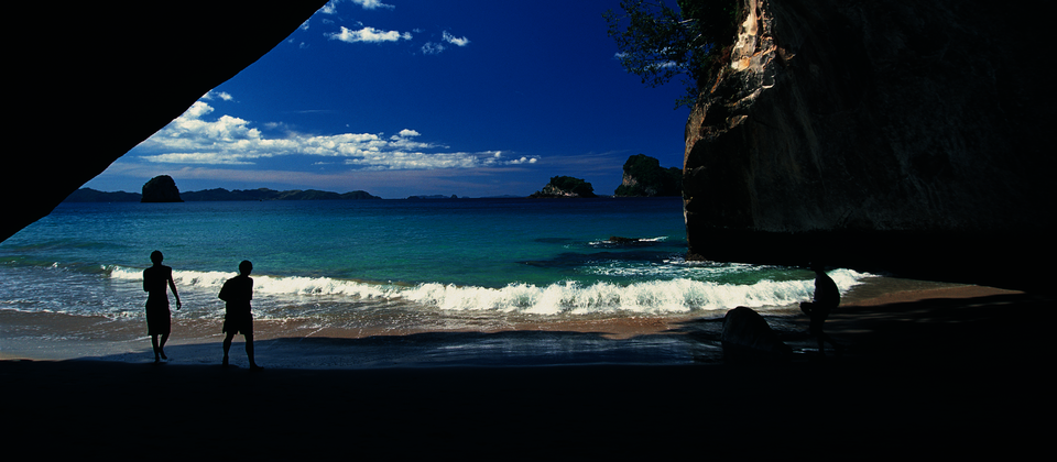 Cathedral Cove on the eastern side of the Coromandel Peninsula
