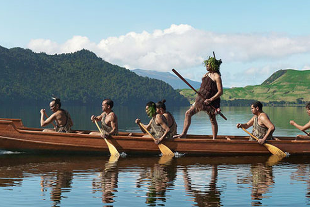 Image result for new zealand waka canoe