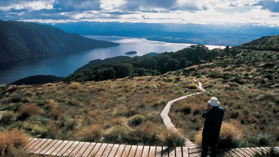 This awe-inspiring track was designed to show you all the best features of Fiordland - mountains, native forest, waterfalls and glacier-carved valleys