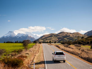 The road to Paradise, Glenorchy.