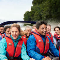 Combine adventure with a unique wilderness experience when you go jet boating on the Dart River in Mount Apsiring National Park.