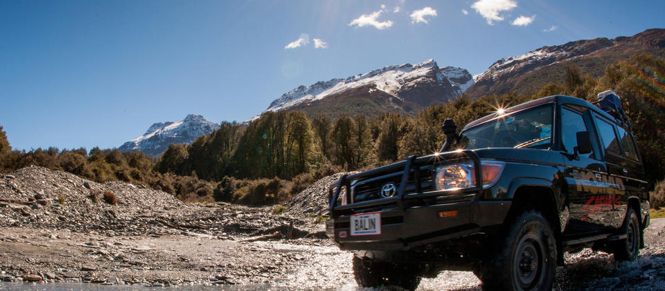 Go off road safely on a 4WD tour