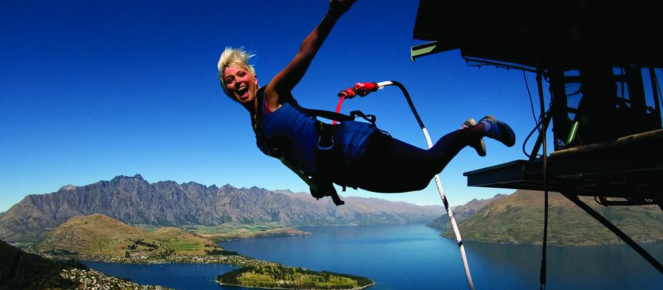 Bungy jumping was pioneered in Queenstown. No adventure holiday would be complete without an adrenalin pumping leap in this picture perfect town.