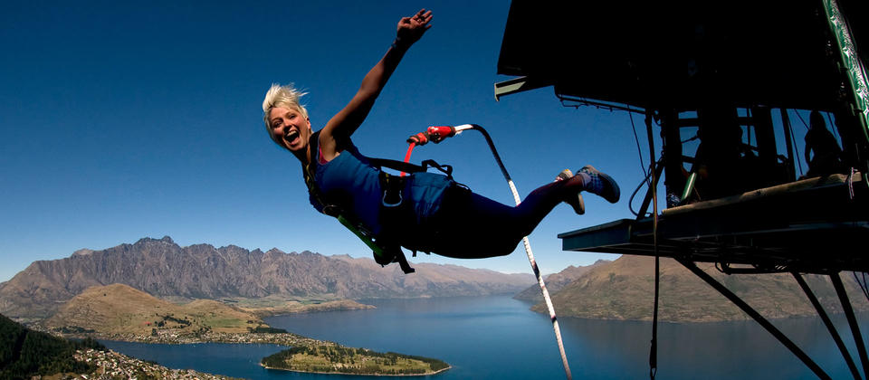 Adventure is everywhere. Take a leap of faith on a bungy at the original Kawarau Bungy site
