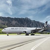 Air New Zealand Plane, Queenstown